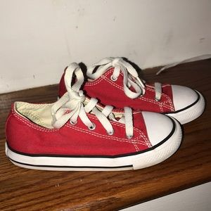 Other - Gently used red converse.